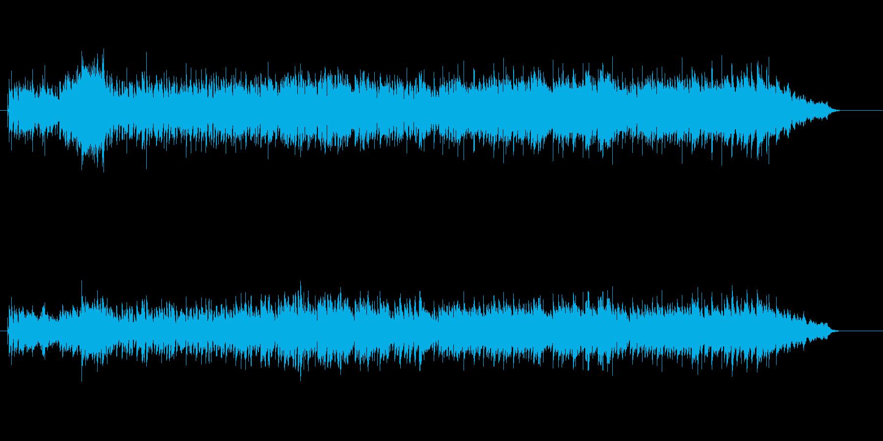 ゴージャスで元気の良いニューミュージックの再生済みの波形