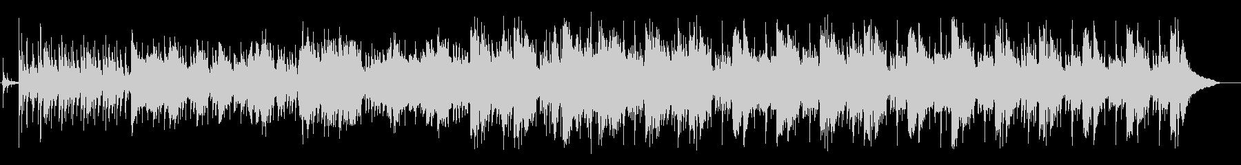 サックスの旋律が入ったセッション形式の曲の未再生の波形