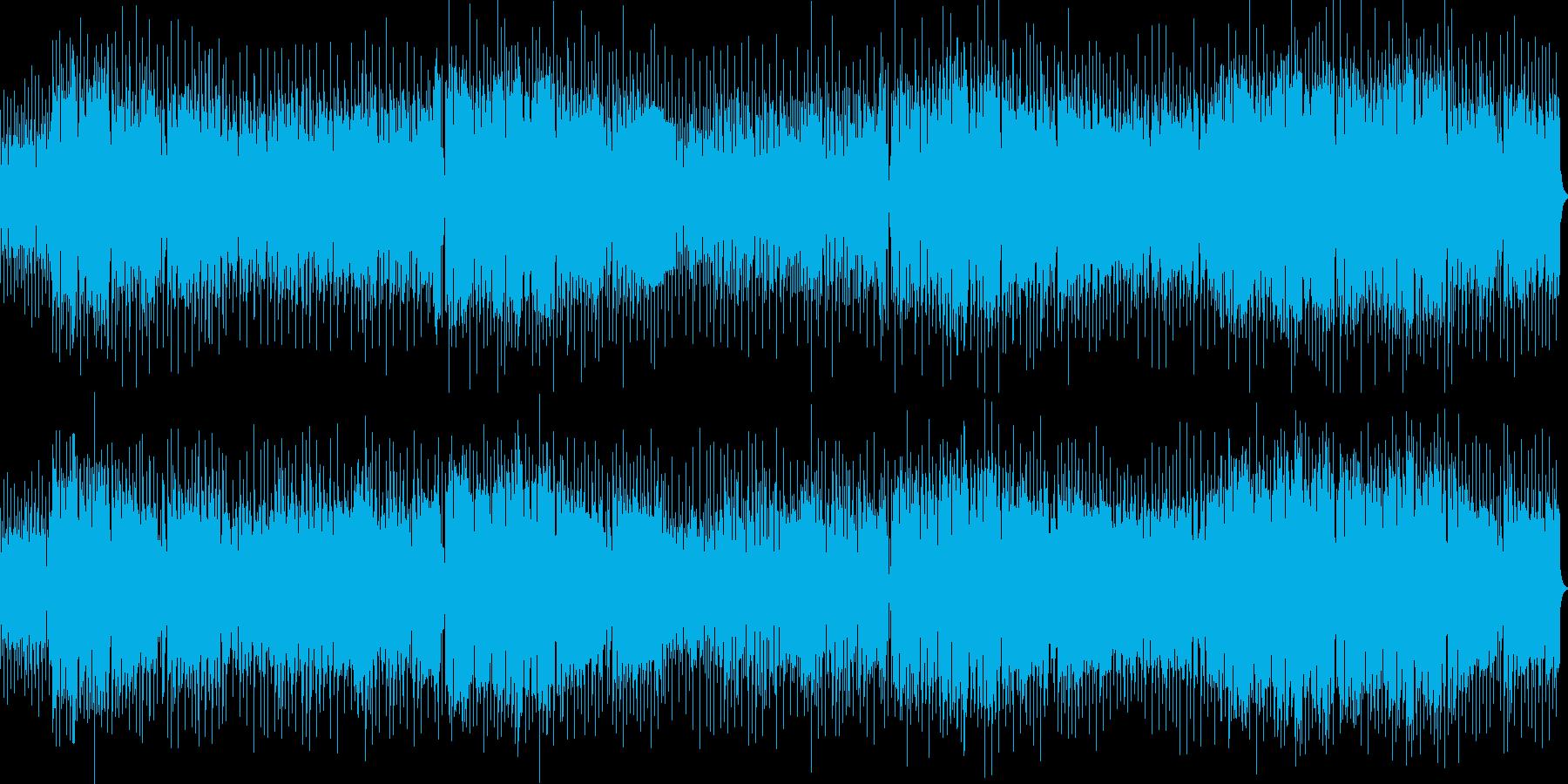 かっこいいテクノpopの再生済みの波形