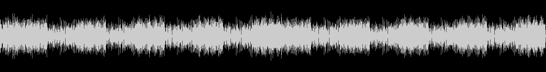 ロックテイストホーンセクションファンクの未再生の波形