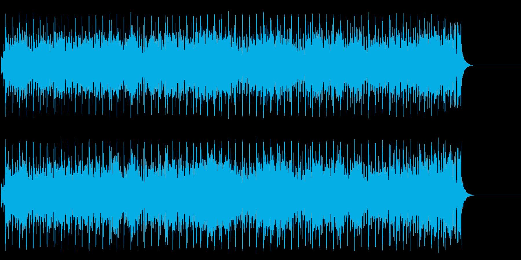 にぎやかで元気で軽快なポップの再生済みの波形