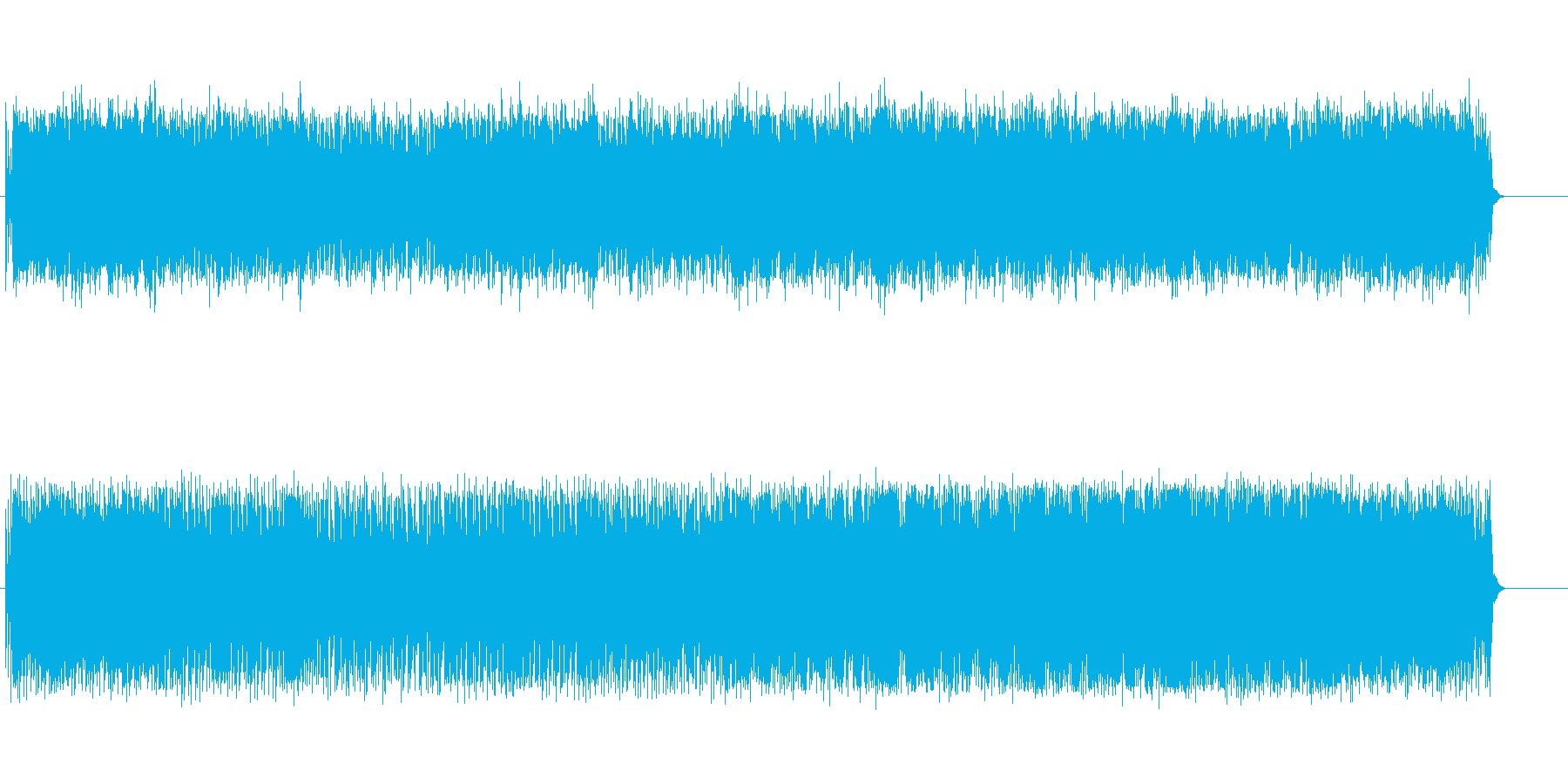 8ビートの疾走のポップフュージョンの再生済みの波形