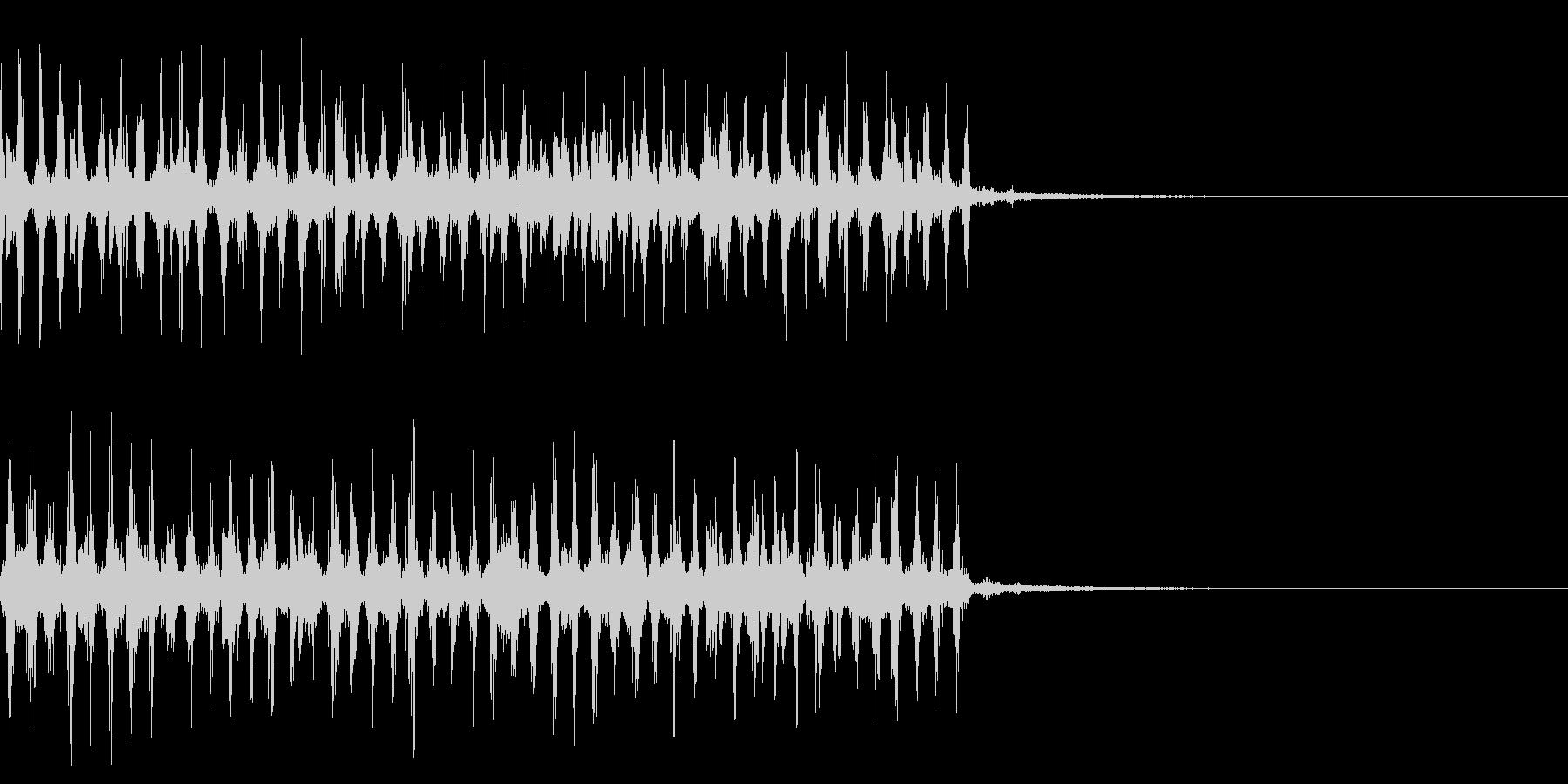 カオス1 痺れ 電流 ビリビリ 感電の未再生の波形