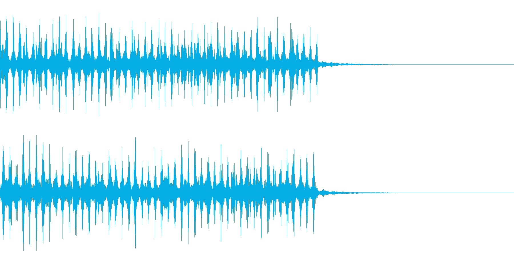 カオス1 痺れ 電流 ビリビリ 感電の再生済みの波形