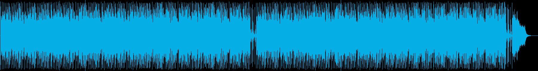 楽しげなシンセサイザーポップの再生済みの波形