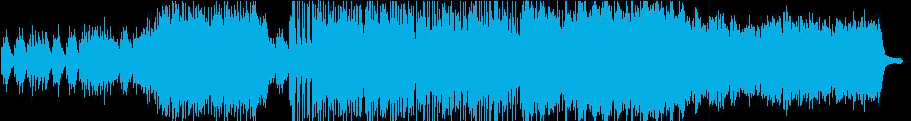 バイオリン生演奏/和風/モダン/荘厳の再生済みの波形