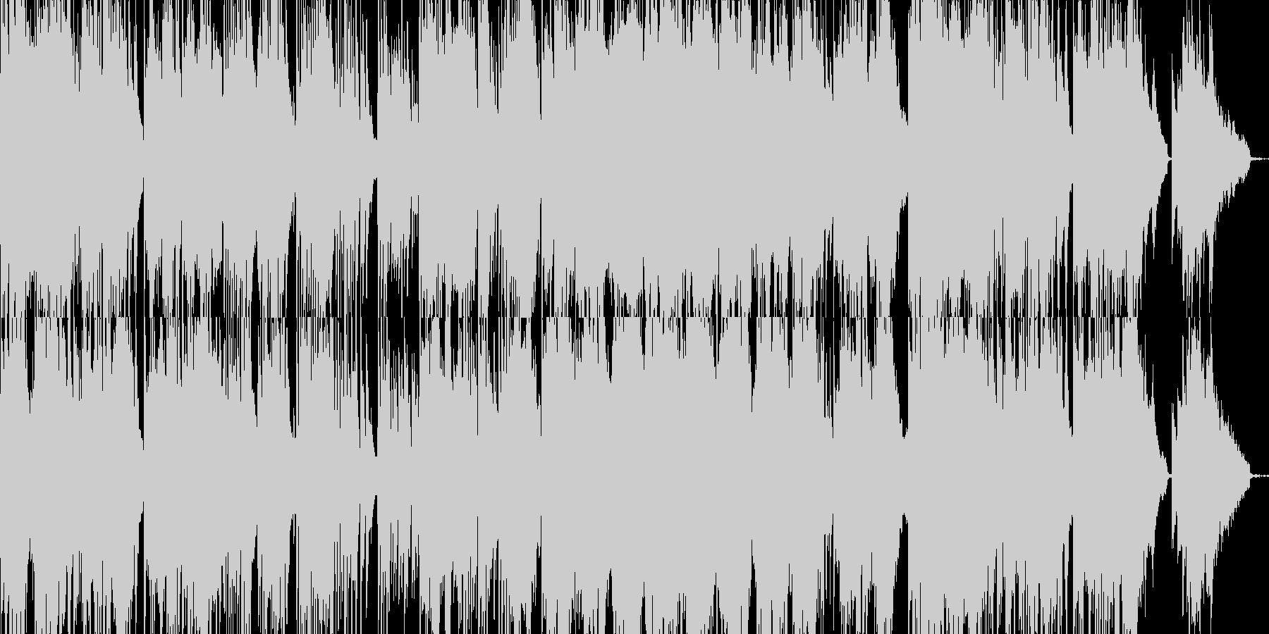 回想シーン等にも最適、情感溢れるピアノの未再生の波形