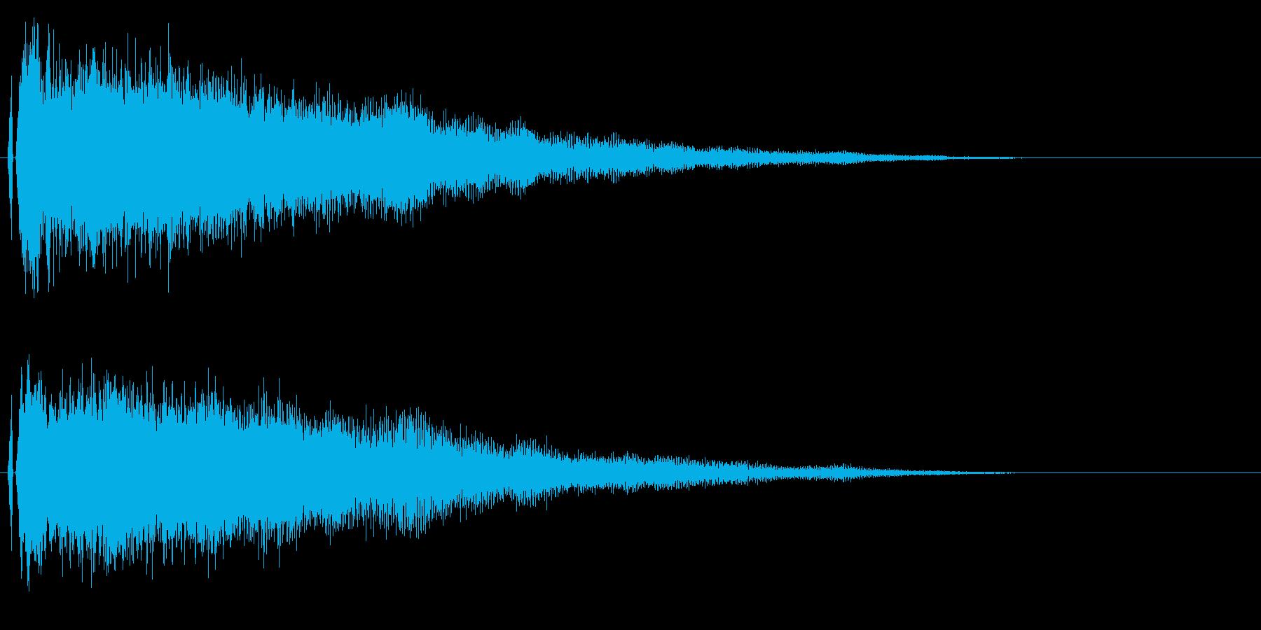 シャキーン♪星,回復,特殊魔法に最適02の再生済みの波形