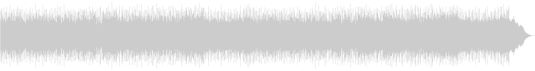 感傷的なメロディーのスローなボサノバですの未再生の波形