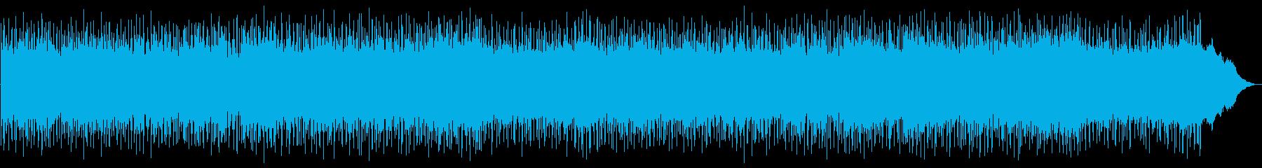 感傷的なメロディーのスローなボサノバですの再生済みの波形