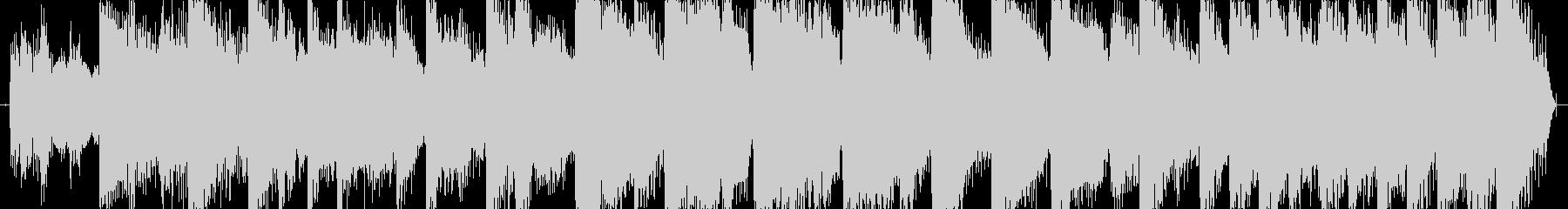 場面転換ジングル10秒の未再生の波形