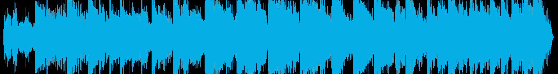 場面転換ジングル10秒の再生済みの波形
