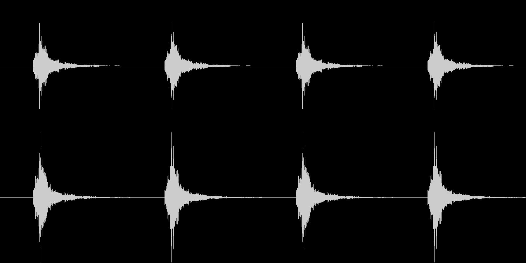 鈴が鳴る音(和風ホラー向け・ループ可能)の未再生の波形