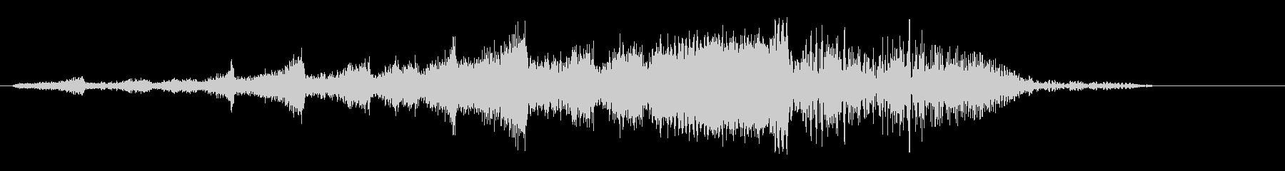 キリキリシュワーン(回転系音)の未再生の波形