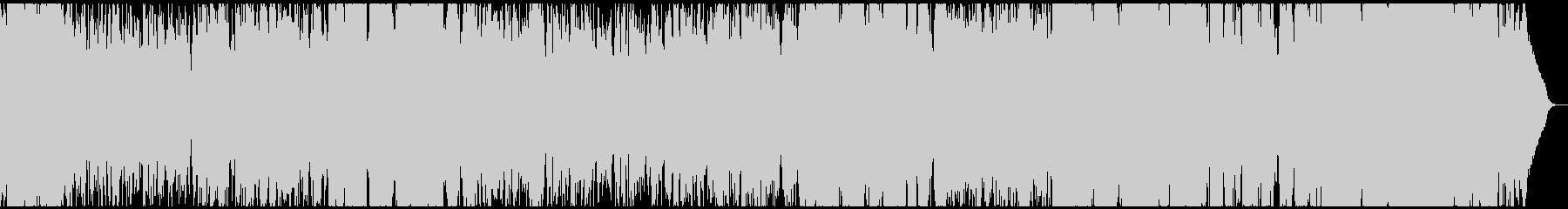 サックスピアノが印象的なお洒落BGM の未再生の波形