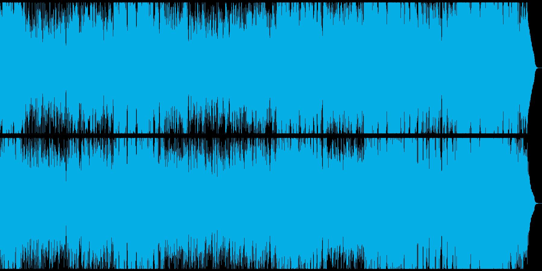サックスピアノが印象的なお洒落BGM の再生済みの波形