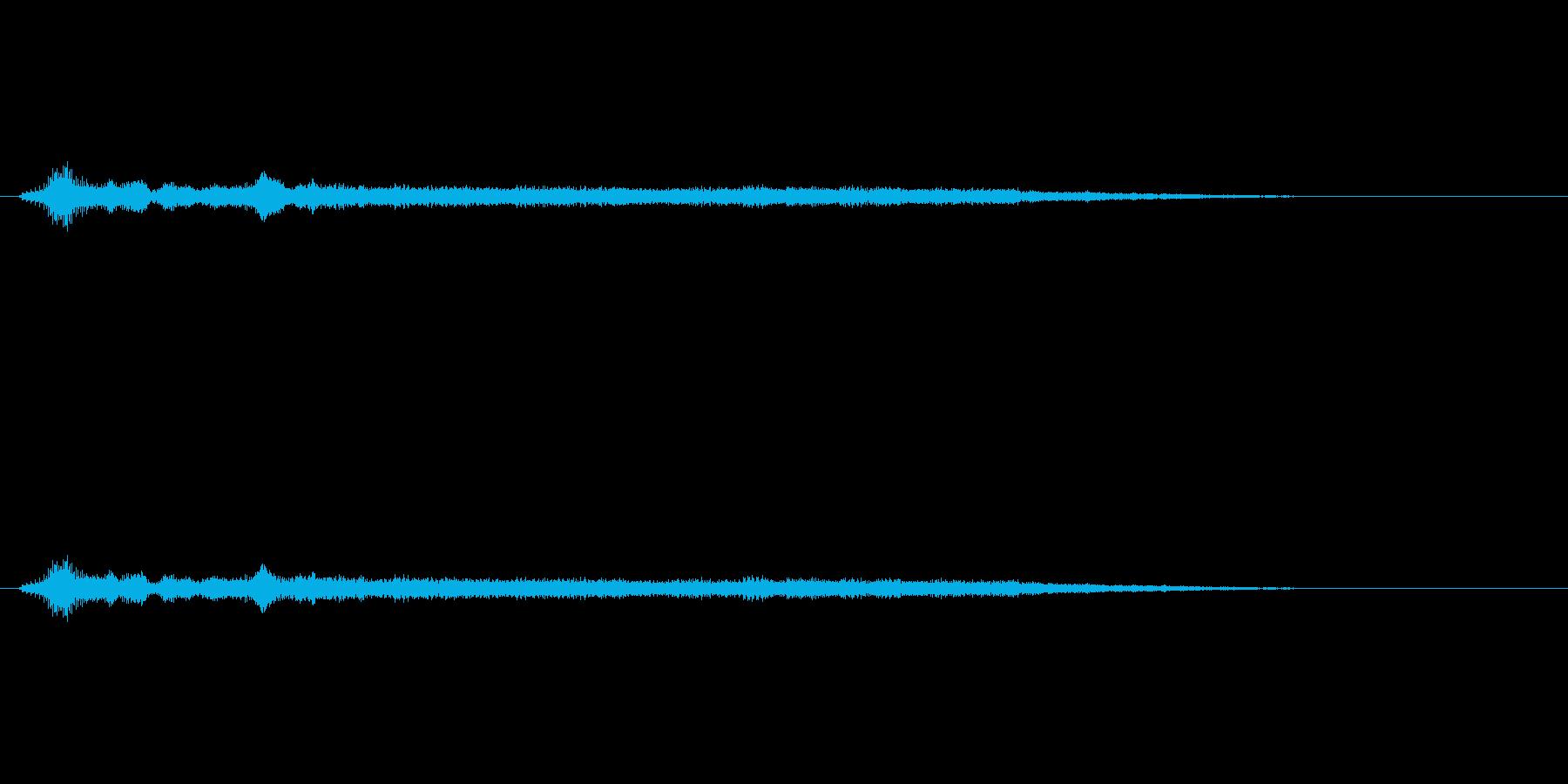 「シューワーン(シンセ音)」の再生済みの波形