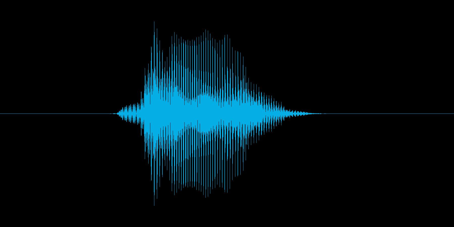 Bye (発音) bye, バイ、バー…の再生済みの波形