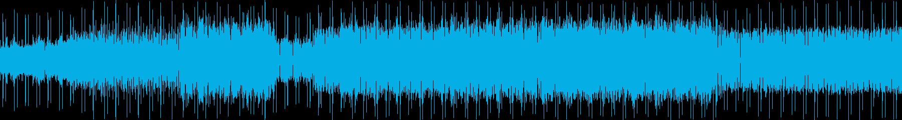 80'sを感じさせるエレクトロの再生済みの波形
