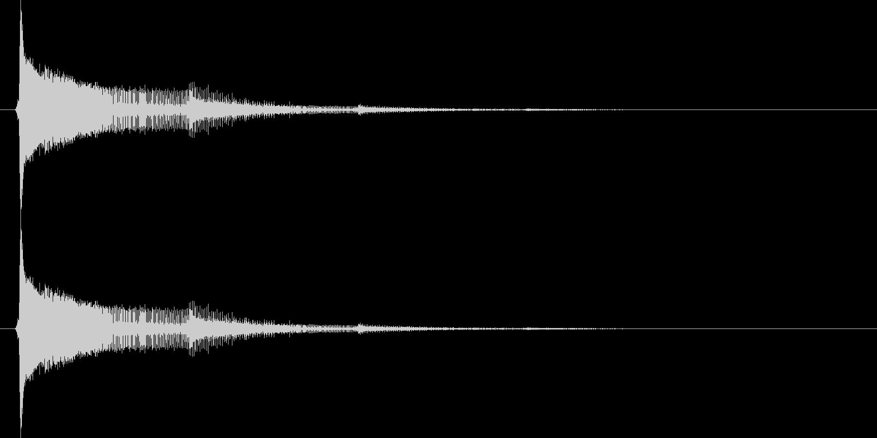 8bit音源のピューン(ビーム音)1の未再生の波形