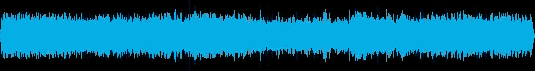 騒がしいイベントホール(環境音)の再生済みの波形
