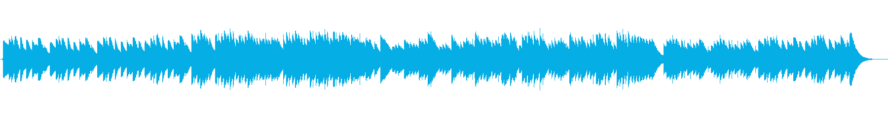 <オルゴール>爽やかな目覚めの再生済みの波形