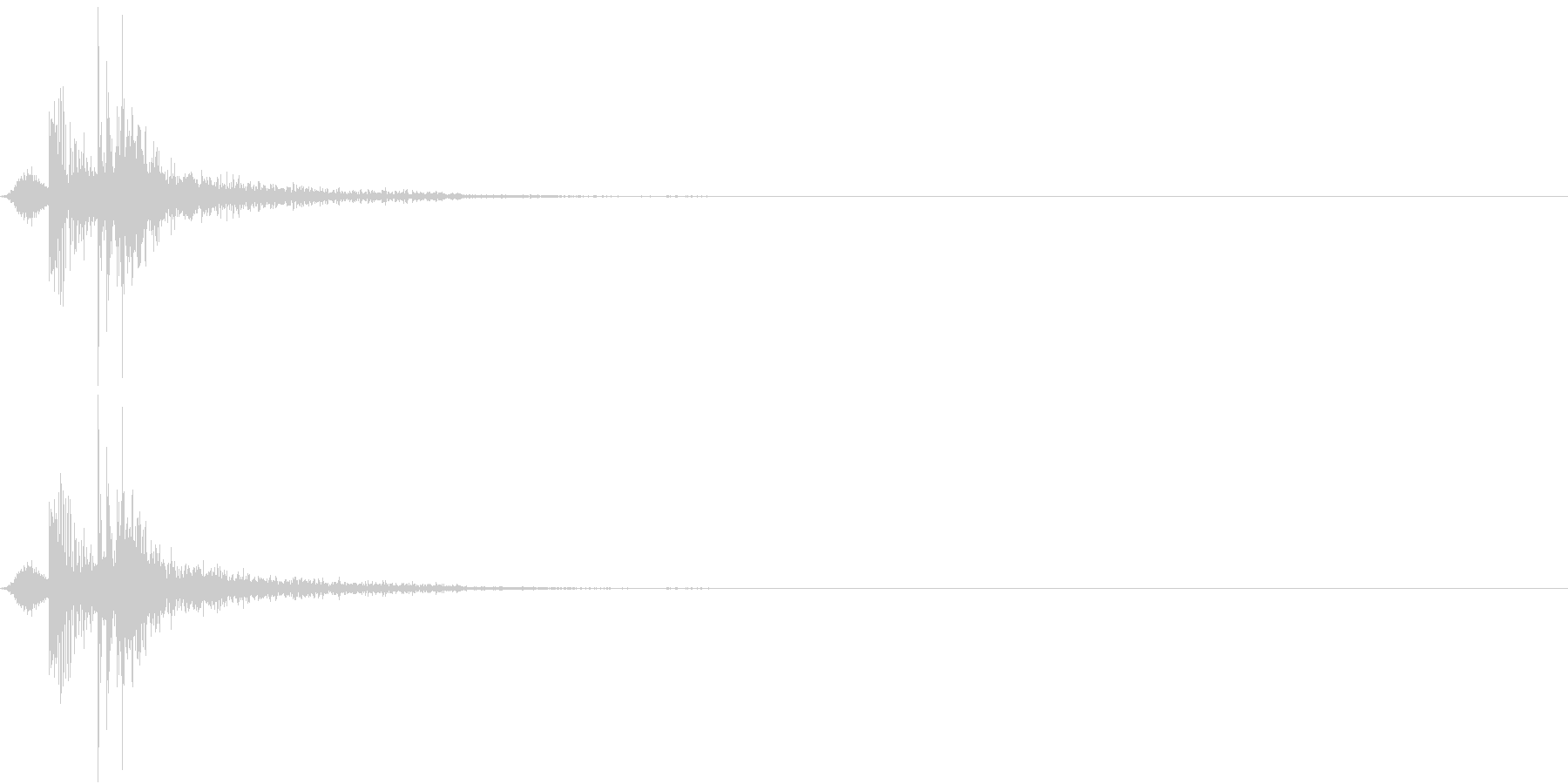 KAKUGE 格闘ゲーム戦闘音 38の未再生の波形