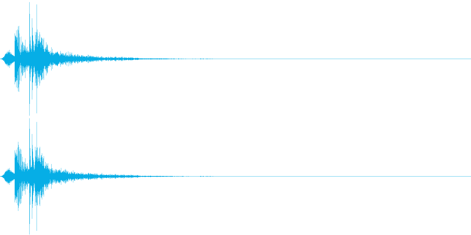 KAKUGE 格闘ゲーム戦闘音 38の再生済みの波形