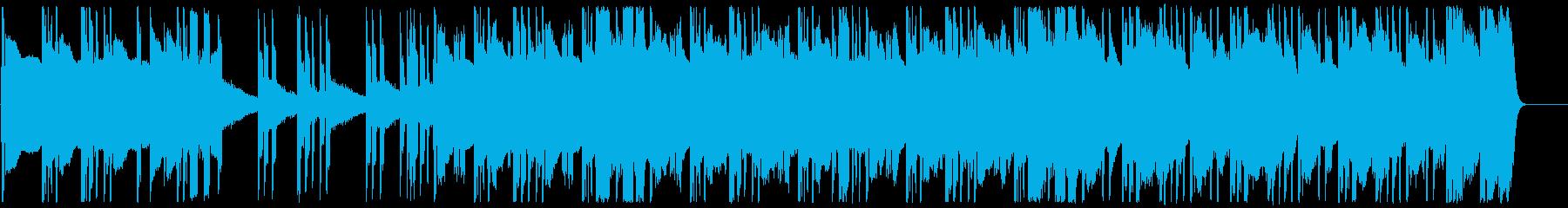 ヒップホップ/超重バス/トラップ#4の再生済みの波形