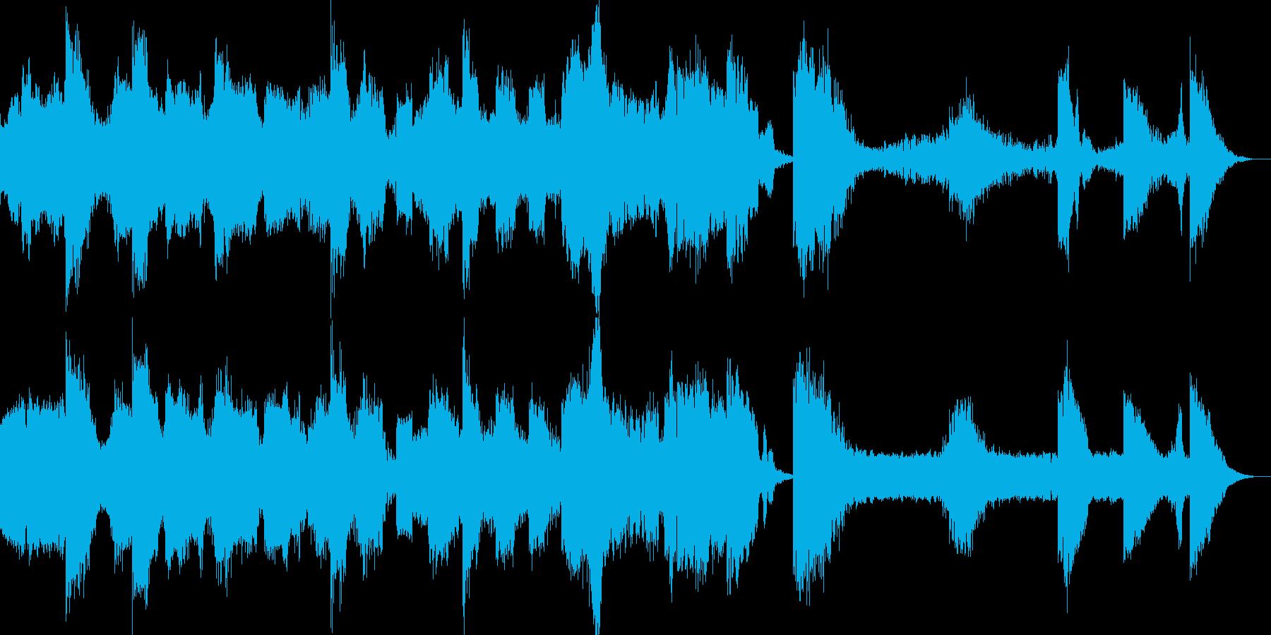 ディストピアなドローンの再生済みの波形