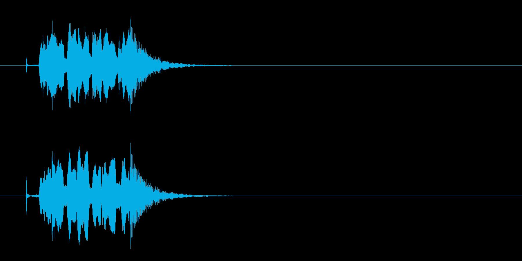コミカル クイズ 不正解 時間切れの再生済みの波形