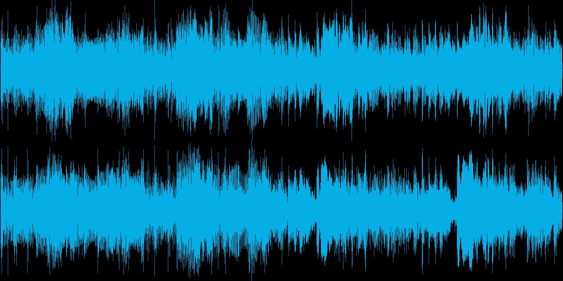ダーク系やホラー系の再生済みの波形