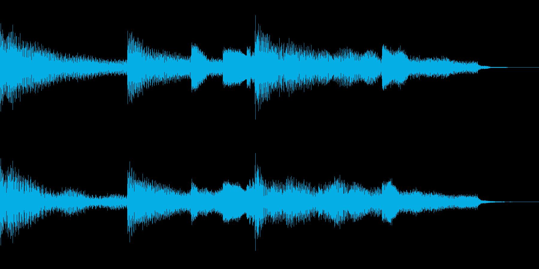 多用途ジングル-3Aの再生済みの波形