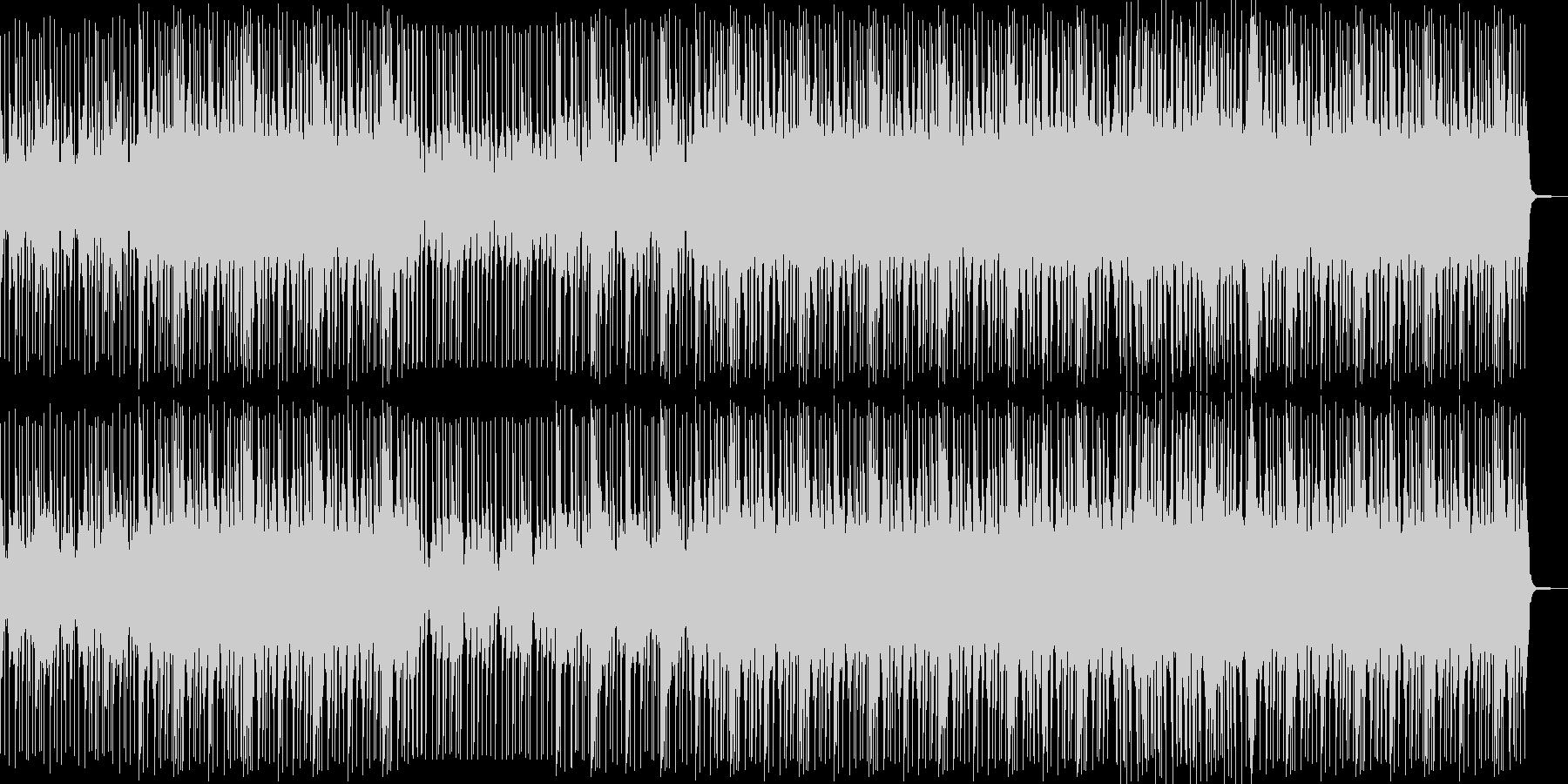 ほのぼのヒップホップの未再生の波形