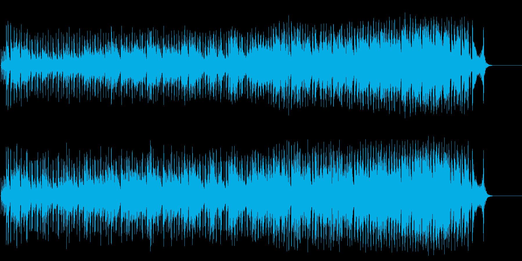 ご機嫌なR&B風ポップ/BGの再生済みの波形