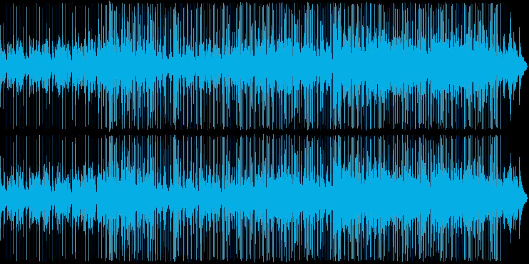 おしゃれな雰囲気のバラードの再生済みの波形