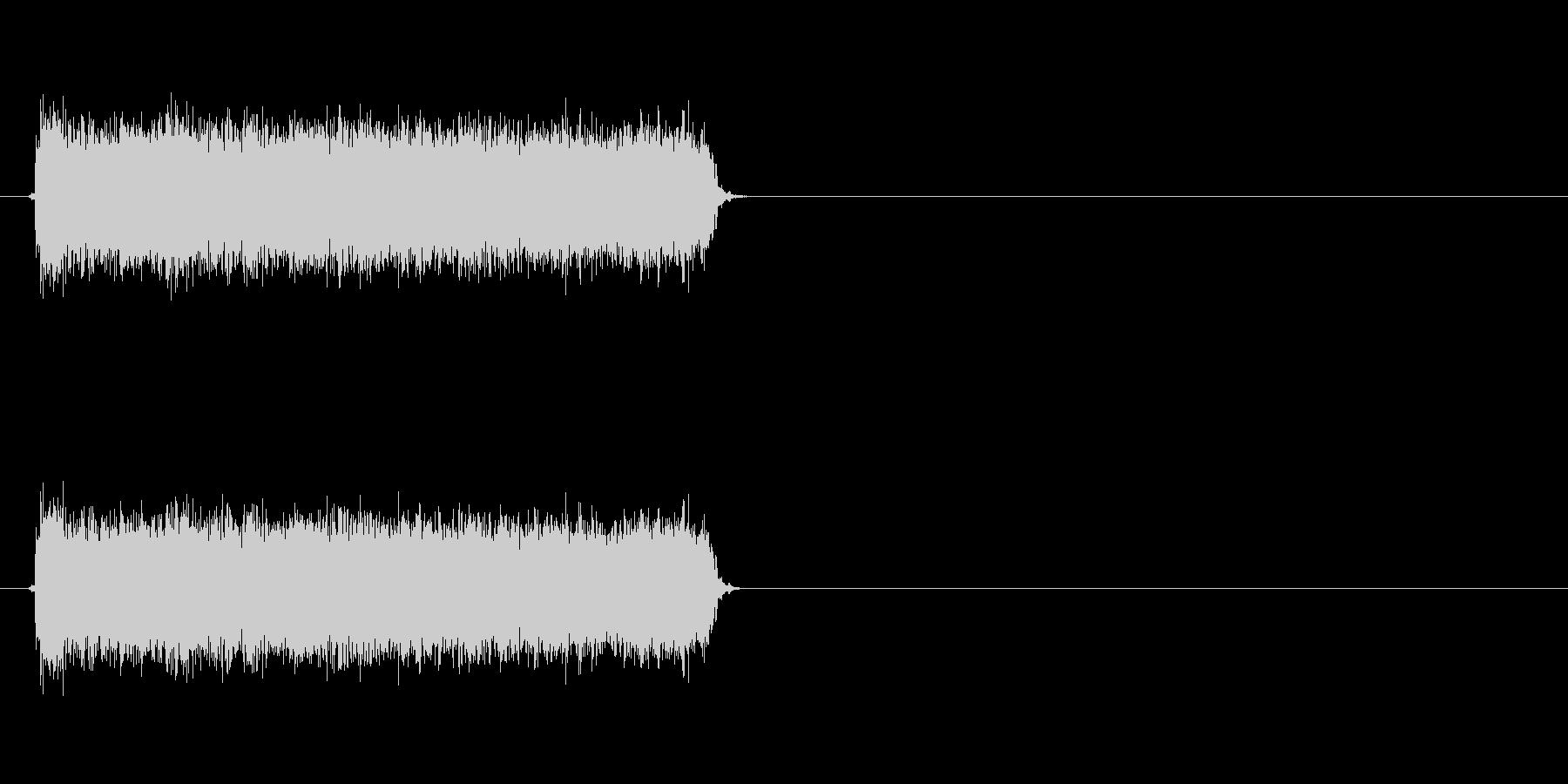 ロック曲等に使えるエレキギター効果音4の未再生の波形