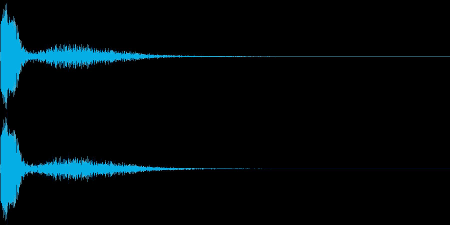 KAKUGE 格闘ゲーム戦闘音 67の再生済みの波形