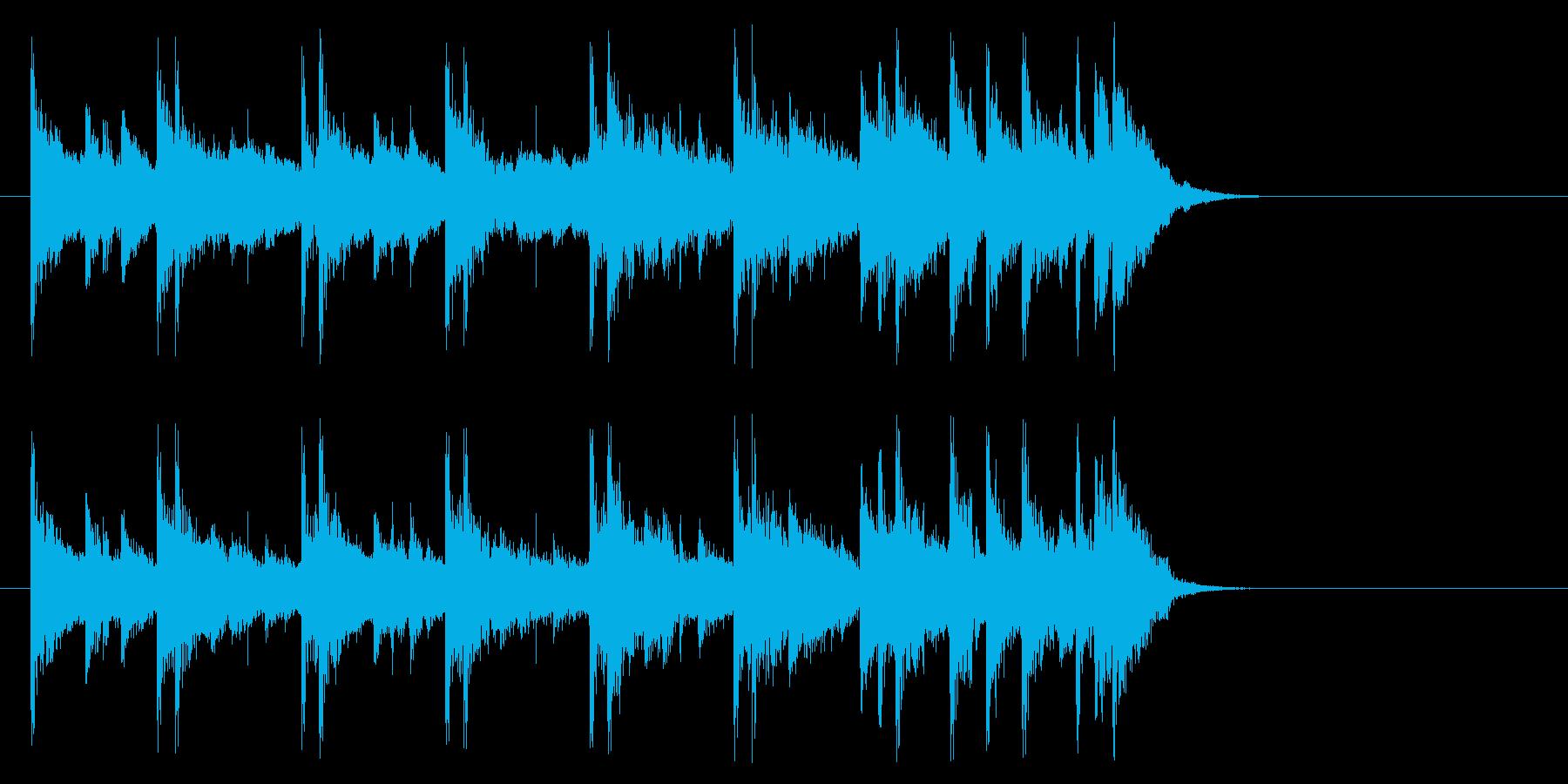 まどろみアコースティック(Aメロ)の再生済みの波形