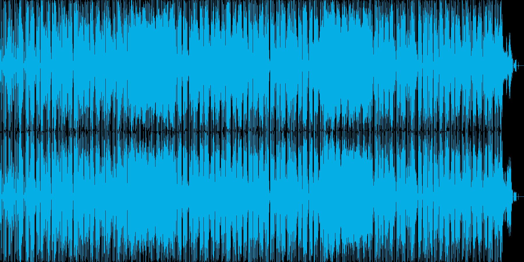 琴メロディによるファンクの再生済みの波形