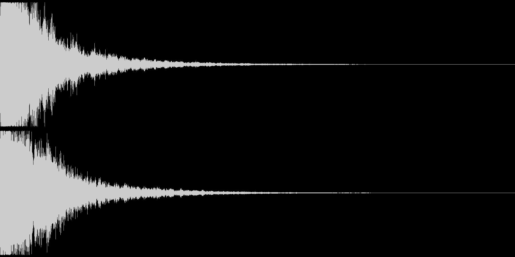 キラーン(ゲーム、アプリ起動や決定音に)の未再生の波形