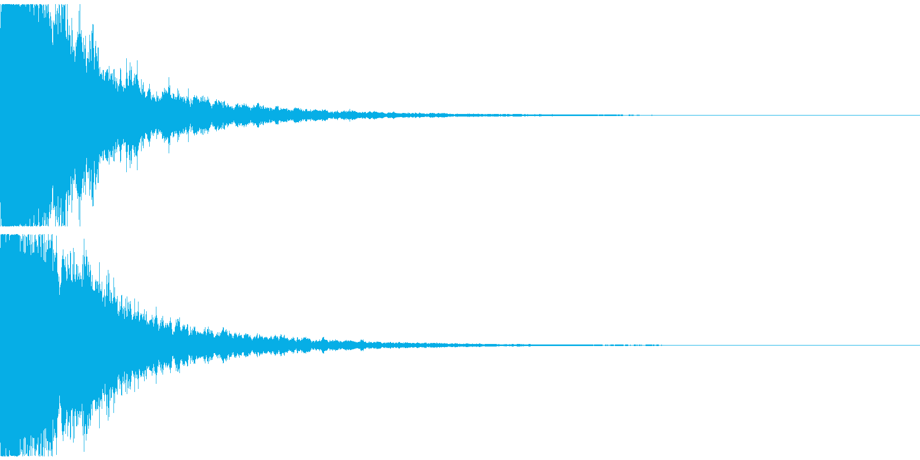 キラーン(ゲーム、アプリ起動や決定音に)の再生済みの波形