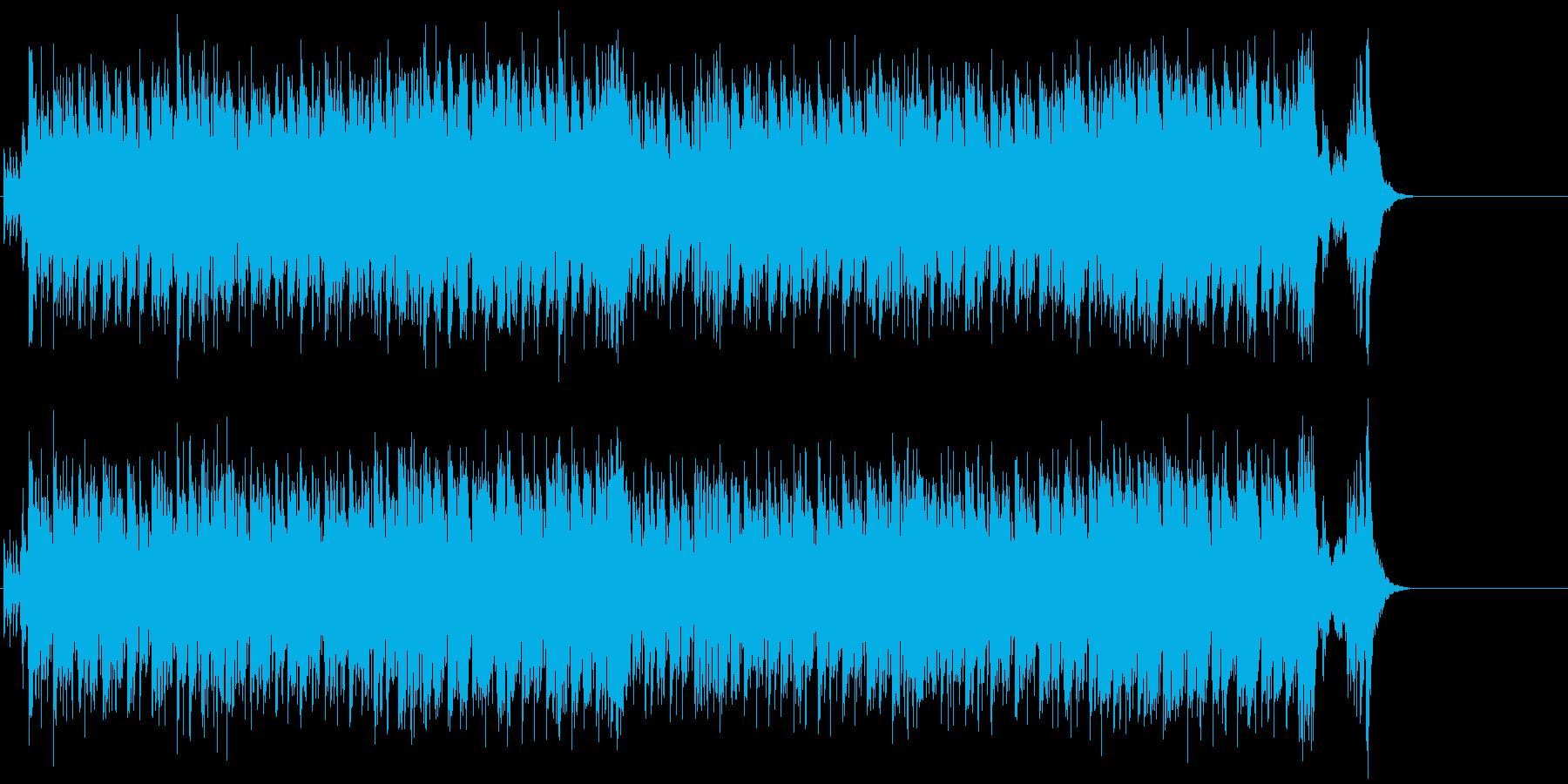 ラテン・フレイバーあふれるトロピカルの再生済みの波形
