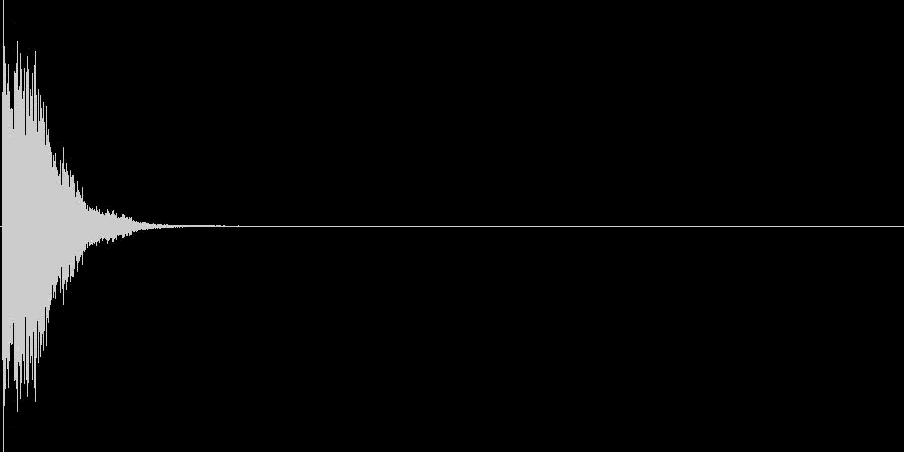 キラーン(光る音)の未再生の波形