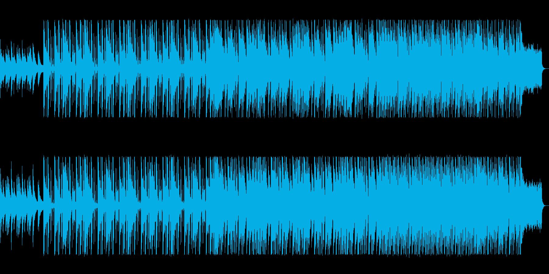 明るく爽やかなヒーリングミュージックの再生済みの波形