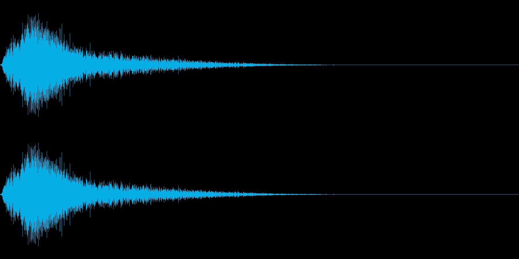 発動/魔法/スタート/中世の再生済みの波形