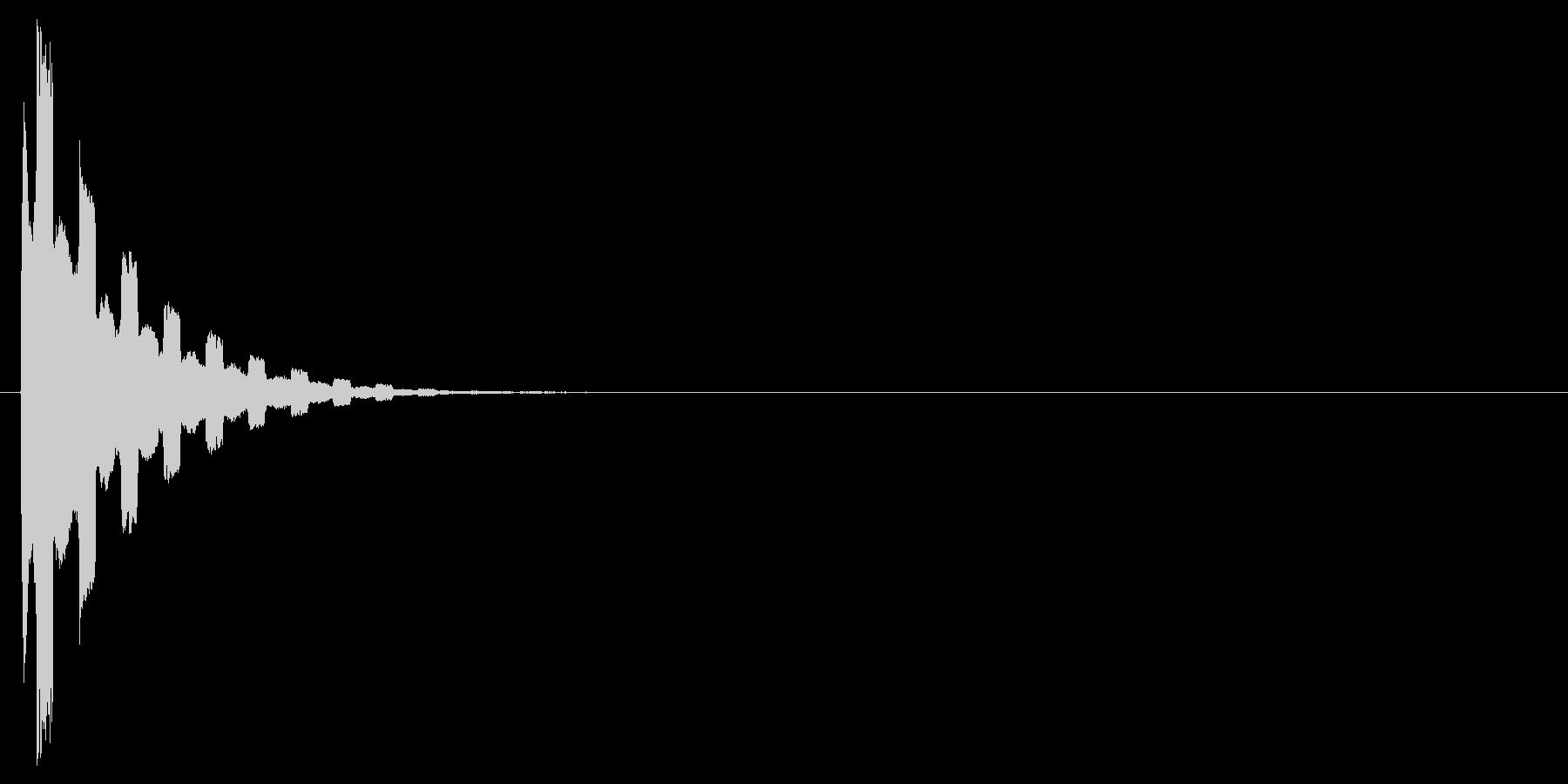 キラーン(キラキラ、低め、アイテム取得)の未再生の波形