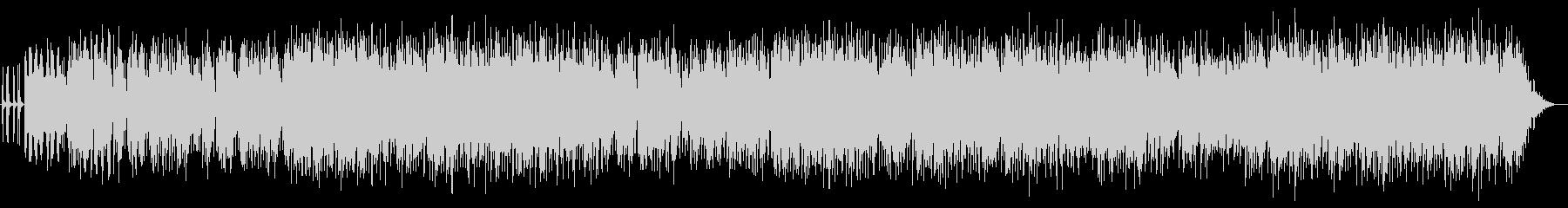 80's風シンセポップ(インスト)の未再生の波形