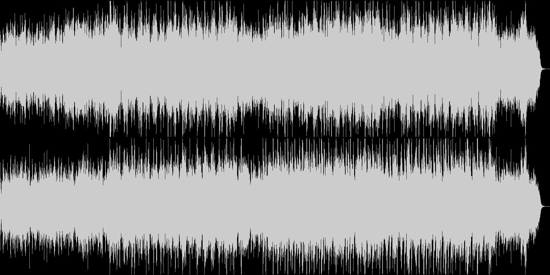 温かく切ない感動ピアノ管弦楽3ピアノと弦の未再生の波形