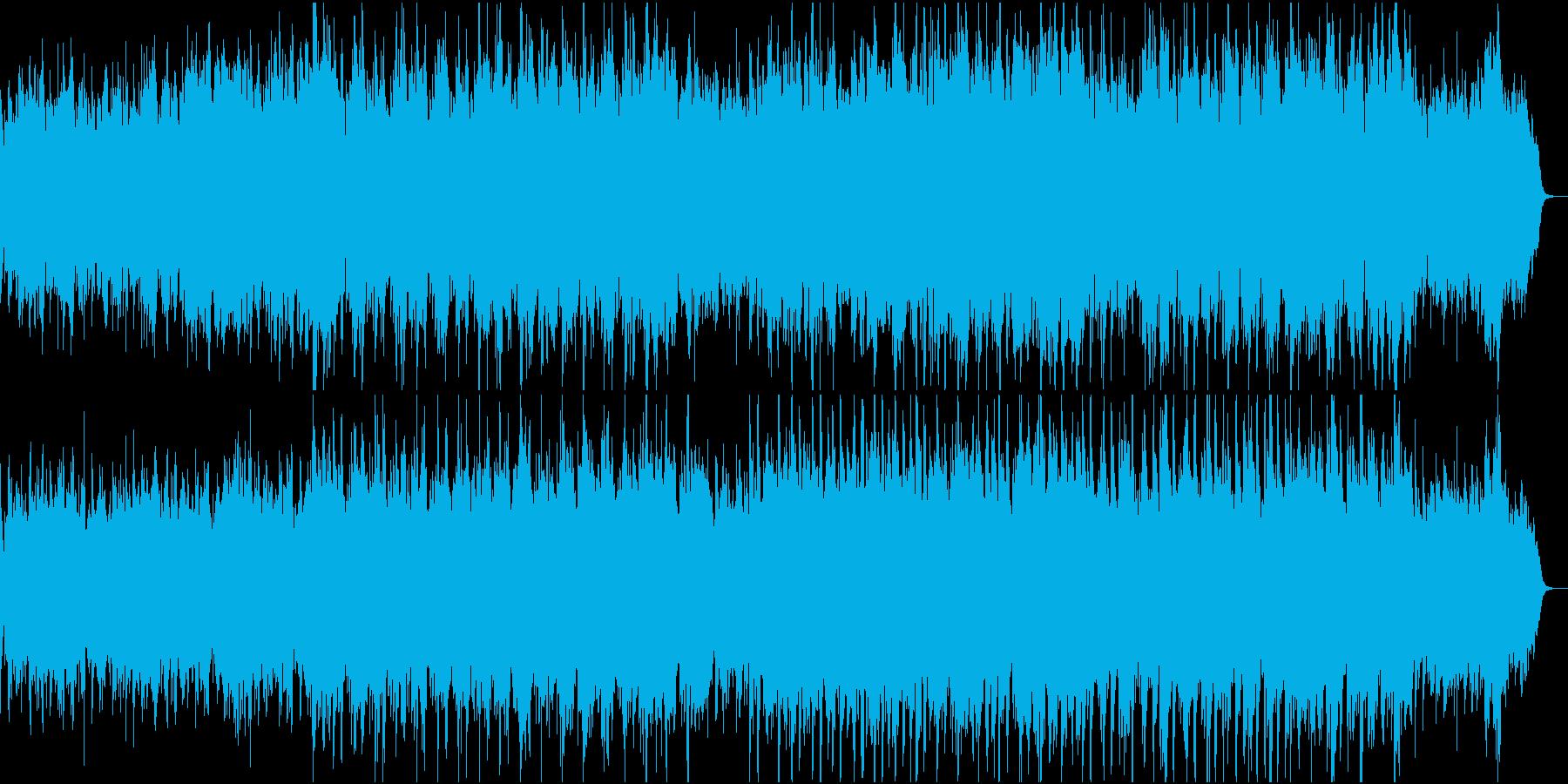 温かく切ない感動ピアノ管弦楽3ピアノと弦の再生済みの波形
